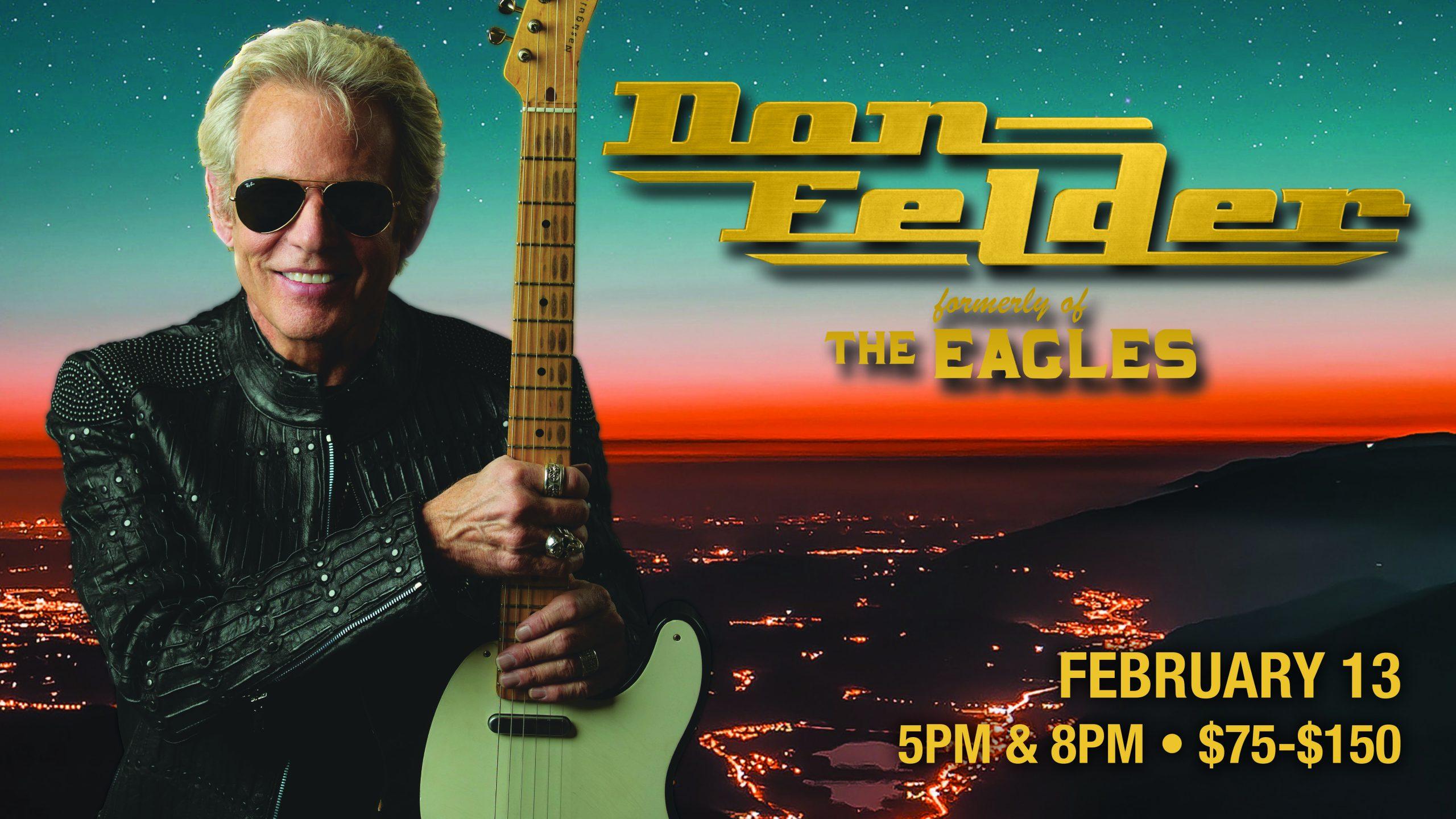 Don Felder formerly of The Eagles