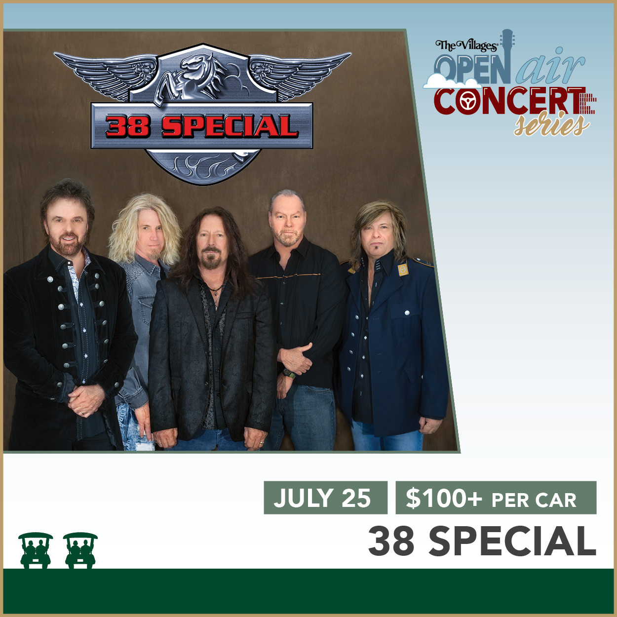 Open Air Concert Series – 38 Special