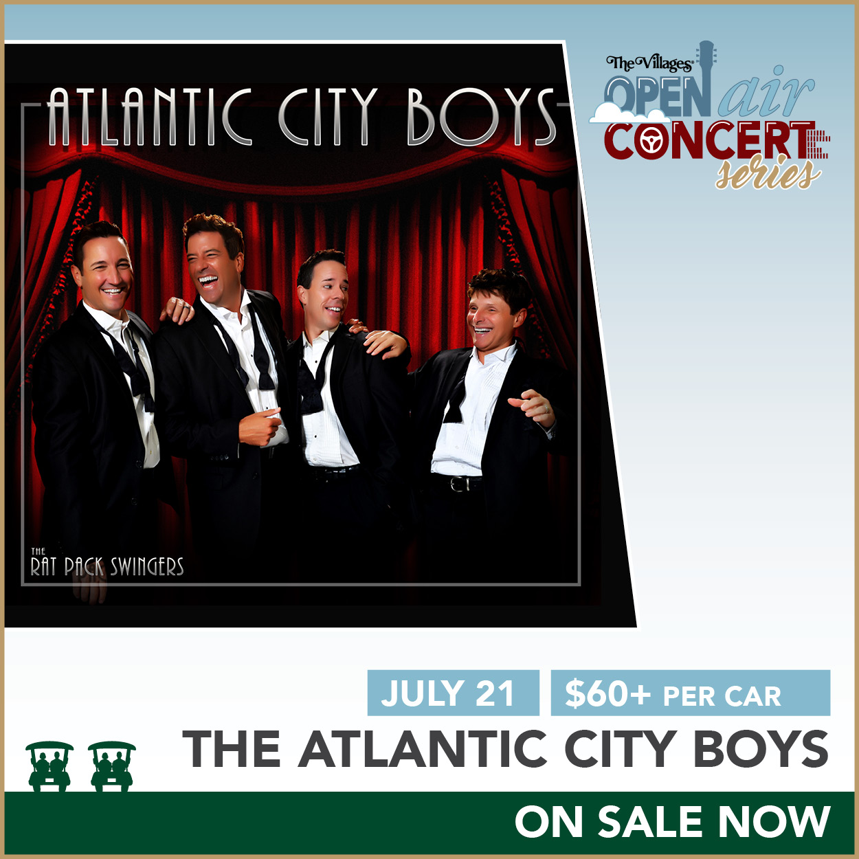 Open Air Concert Series – The Atlantic City Boys