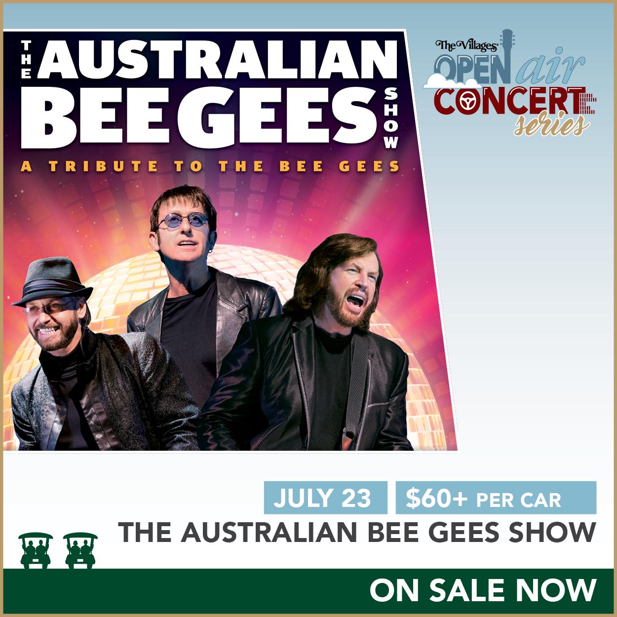 Open Air Concert Series – The Australian Bee Gees