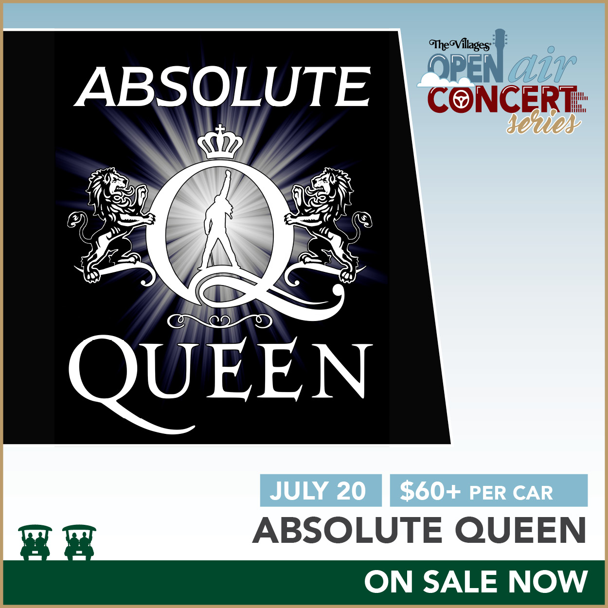Open Air Concert Series – Absolute Queen
