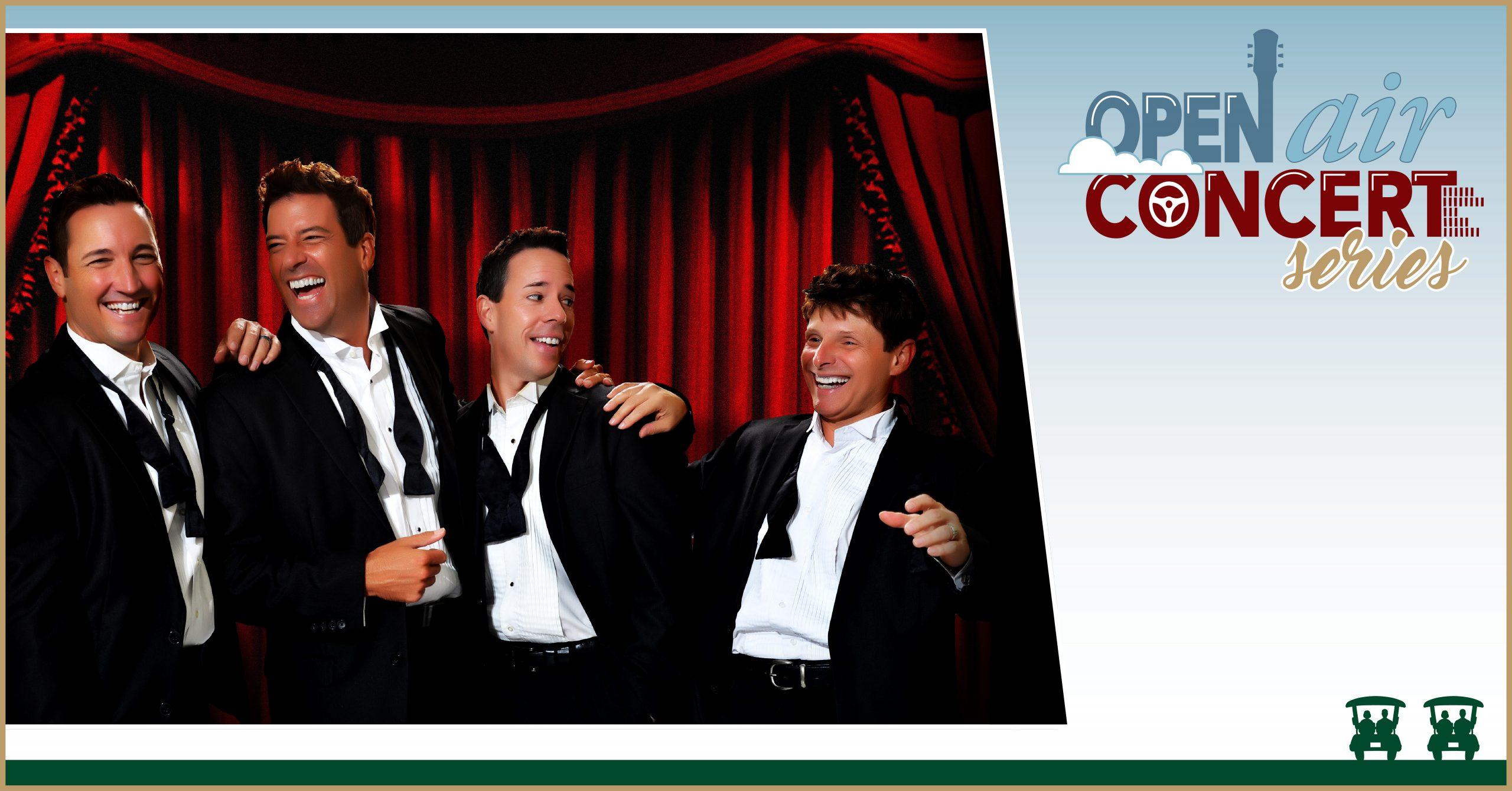 The Open Air Concert Series – The Atlantic City Boys