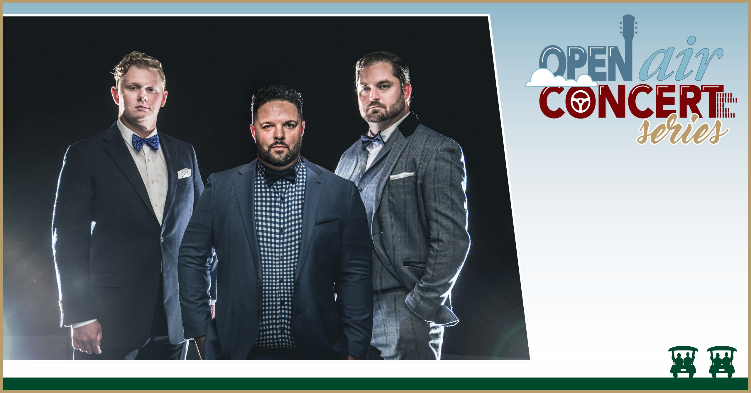 The Open Air Concert Series – The Christmas Tenors