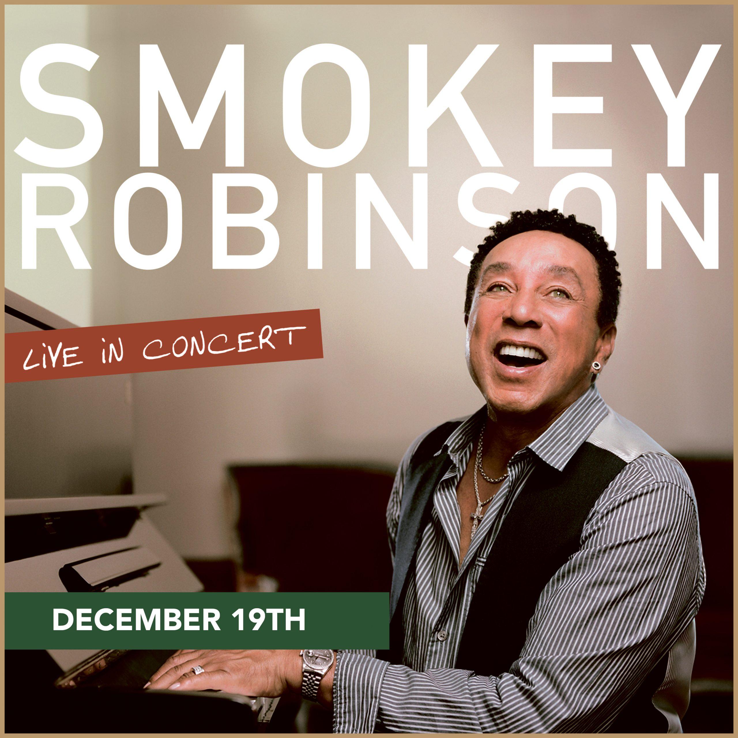 The Open Air Concert Series – Smokey Robinson