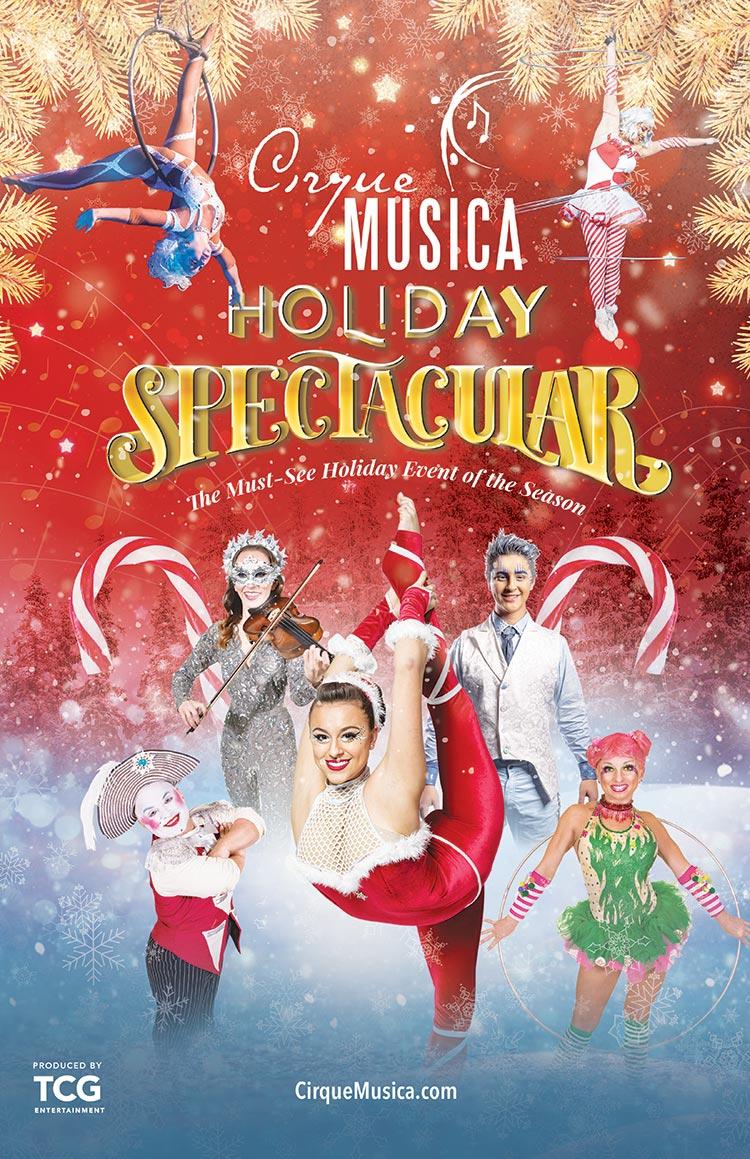 Cirque Musica Holiday Spectacular